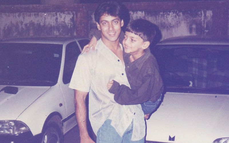 Who's The Little Guy In This Pic? Hint: Salman Khan Is Launching Him Soon