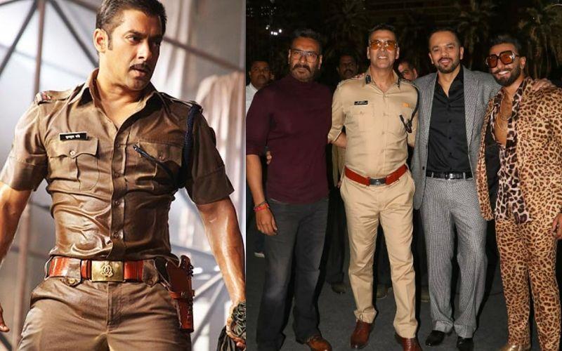 अजय देवगन, रणवीर सिंह और अक्षय कुमार के बाद अब सलमान खान को पुलिस अफसर बनाएंगे रोहित शेट्टी