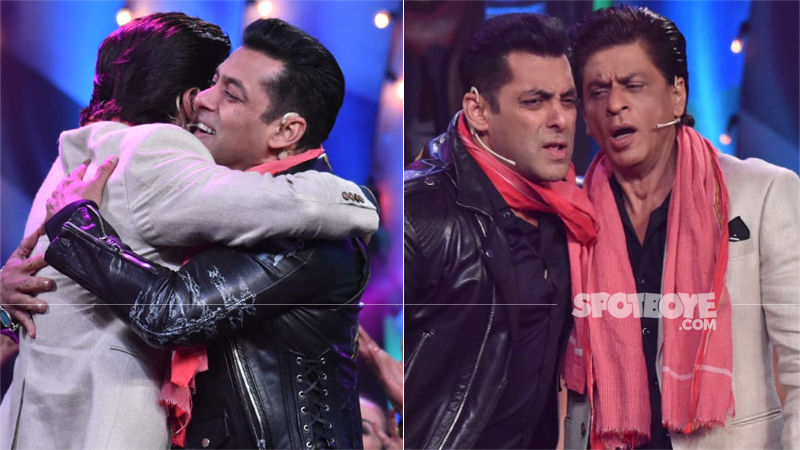 Bigg Boss 12: Salman Khan-Shah Rukh Khan Hug, Sing -- And We Are Floored!