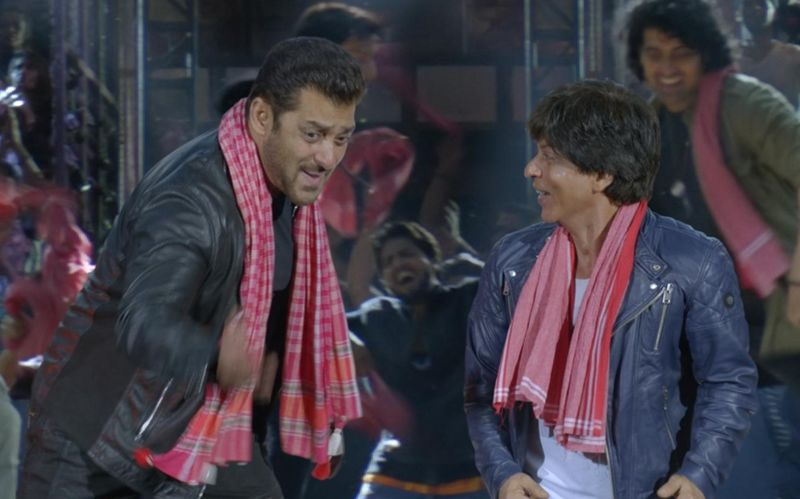 शाहरुख और सलमान खान के गाने 'इश्क़बाजी' की धूम, महज 24 घंटे में 24 मिलियन से अधिक बार देखा गया!
