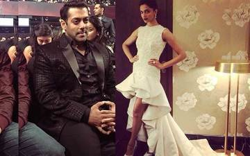 Salman Bites Into Deepikas Train