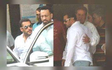 Salman Leaves For Court
