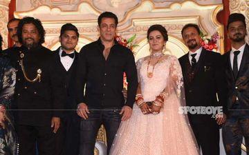 Salman Khan Graces Makeup Artiste's Son's Wedding; Makes Dashing Entry On 'Swag Se Swagat'