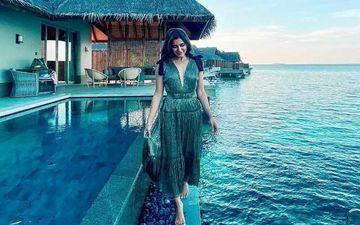 Samantha Akkineni Stuns In Green Plunging Neckline Gown; Tells Fans 'No Biggni Shoot'