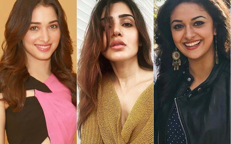 Tamannah Bhatia And Keerthy Suresh Wish Samantha Akkineni Best On Her Birthday With This CDP