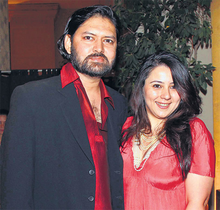 sameer arya and wife shrishti behl