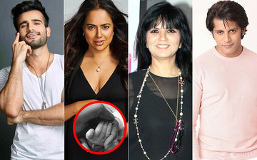 Sameera Reddy Blessed With A Baby Girl; Karan Tacker, Karanvir Bohra And Neeta Lulla Congratulate The Actress