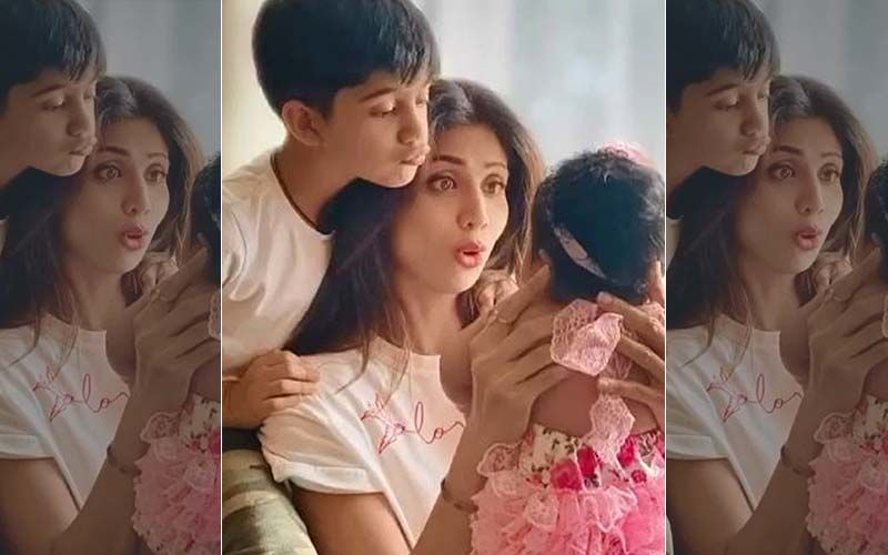 Shilpa Shetty And Raj Kundra's Daughter Samisha's FIRST GLIMPSE Revealed As The Actress Steps Out With Her L'il One; She's Oh-So-Adorable- VIDEO
