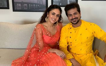 Well Done Baby: Amruta Khanvilkar, Pushkar Jog And Vandana Gupte Shoot For This Upcoming Marathi Rom-Com