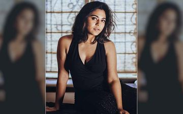 Mrunmayee Deshpande's Raw Hotness Will Make You Drool Over This Cleavage Flaunting Low Cut Black Dress