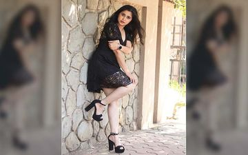 Gayatri Datar Is Raising The Temperatures In Her Hot Black Mini Dress