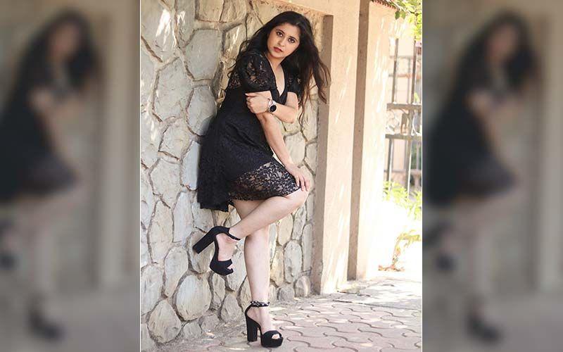 Gayatri Datar Is Raising The Temperatures In Her Hot Black Mini Dress