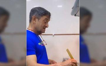 Here's How Mahesh Manjrekar Makes Himself Helpful At Home During The Lockdown