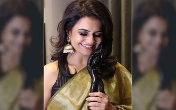 Catch Amruta Subhas On The Cover Of Filmfare Winners Parade 2020
