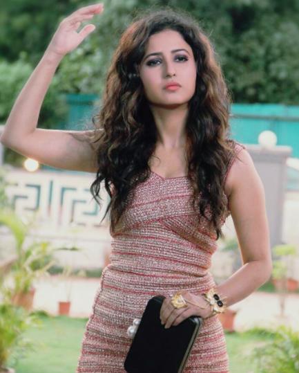 sana amin khan poses for a photoshoot