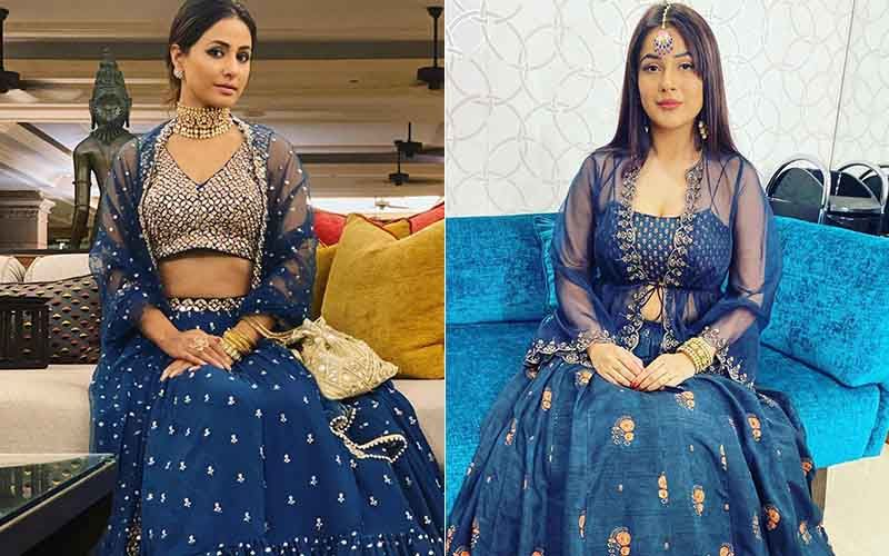 Bigg Boss 13 Fashion Face-Off: Shehnaaz Gill's Lehenga Seems An Utter Failure In Front Of Hina Khan's Dreamy One