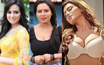 Sana Khan Slowly And Gradually Undresses!