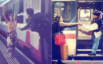 Sanaya Irani & Mohit Sehgal Recreate DDLJ Train Scene But Then This Happened