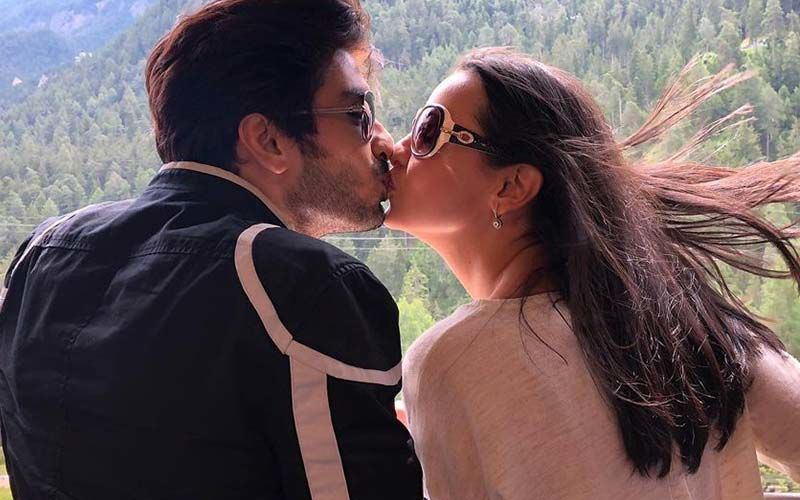Sanaya Irani Plants A Kiss On Hubby Mohit Sehgal Wishing Him A Happy Birthday; Fans Go Gaga Over The Love-Filled Post