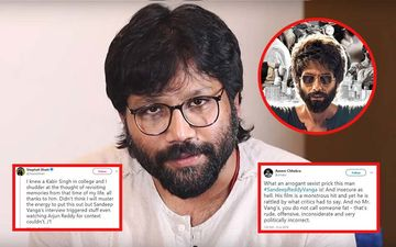 Kabir Singh Director Sandeep Reddy Vanga Blasted By Twitterati For His Controversial Comments On Toxic Masculinity