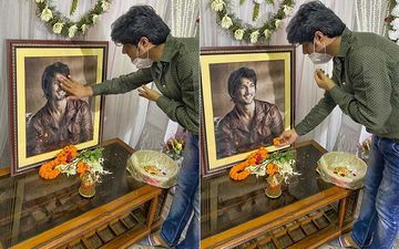Sushant Singh Rajput's Close Friend Sandip Ssingh Visits His Patna House To Meet His Father - PICTURES
