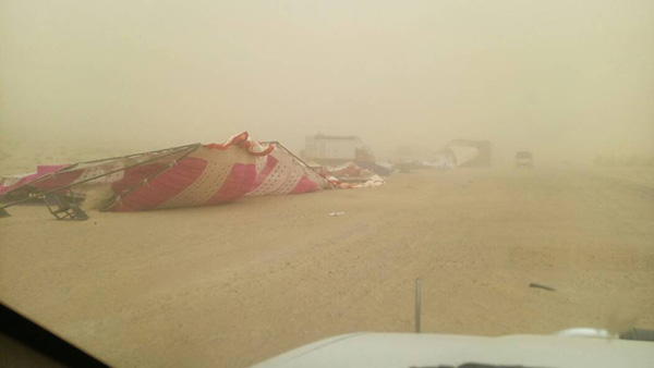 sandstorm hits the sets of parmanu in jaisalmer