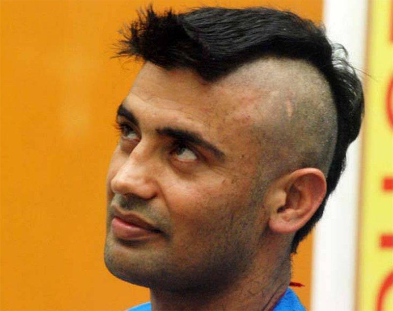 sangram singh goes bald on bigg boss season 11