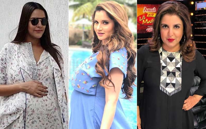 Sania Mirza-Shoaib Malik Blessed With A Baby Boy; Buddies Neha Dhupia & Farah Khan Can't Keep Calm