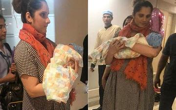 सानिया मिर्जा के बेटे इजान की पहली तस्वीर आयी सामने
