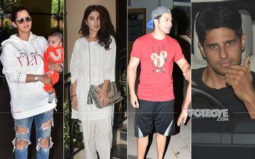 Celeb Spottings: Sania, Rhea, Varun, Sidharth Have A Ball!