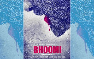 Bhoomi First Poster Out: Here's A Blood Soaked Sanjay Dutt