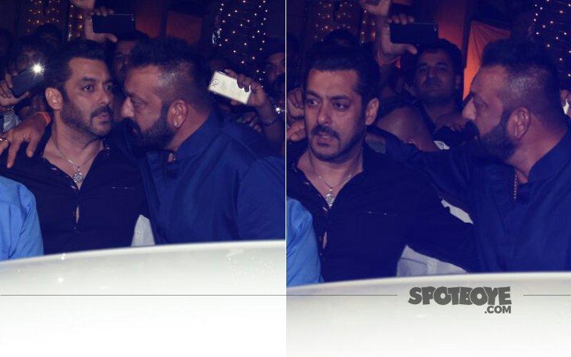 THE BIG PATCH UP: Lord Ganesha Reunites Warring Salman Khan & Sanjay Dutt