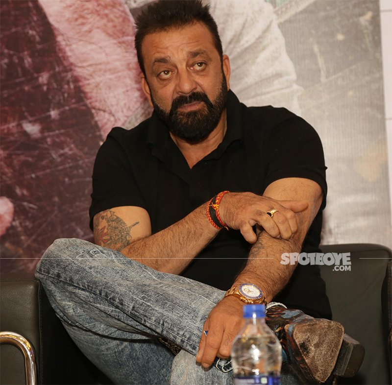 sanjay dutt at a media interaction