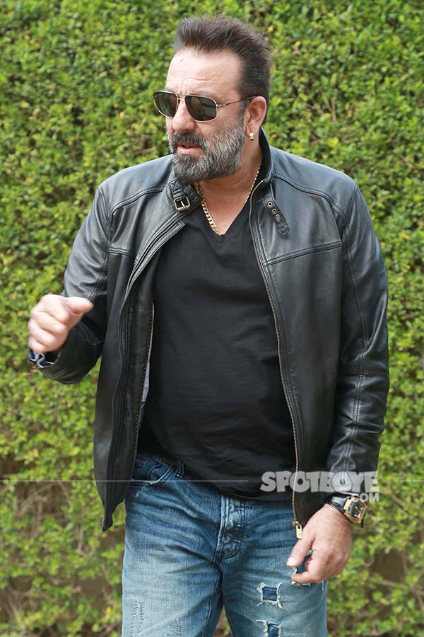 sanjay dutt at press conference of film bhoomi