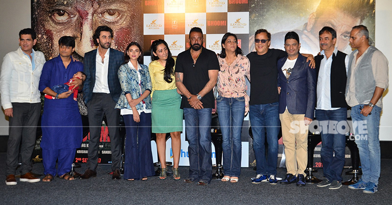 sanjay dutt for bhoomi promotion