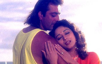Madhuri Dixit Makes Ex-Flame Sanjay Dutt Uncomfortable, Past Catches Up!