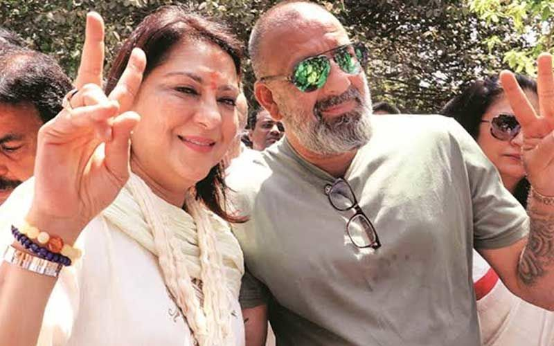 Amidst His Lung Cancer Treatment Sanjay Dutt Pens A Sweet Wish For Sister Priya Dutt On Her Birthday; 'Thank You For Being A Constant In My Life'