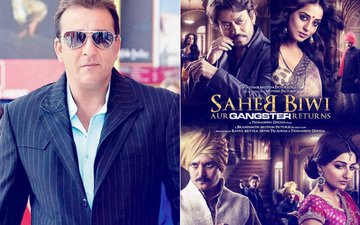 Sanjay Dutt Joins Jimmy Sheirgill & Mahie Gill In Saheb, Biwi Aur Gangster 3