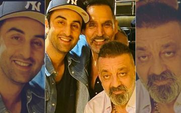 Sanjay Dutt's Happy Selfie With Ranbir Kapoor Goes Viral As The Latter Visits Sanju Post His Lung Cancer Diagnosis