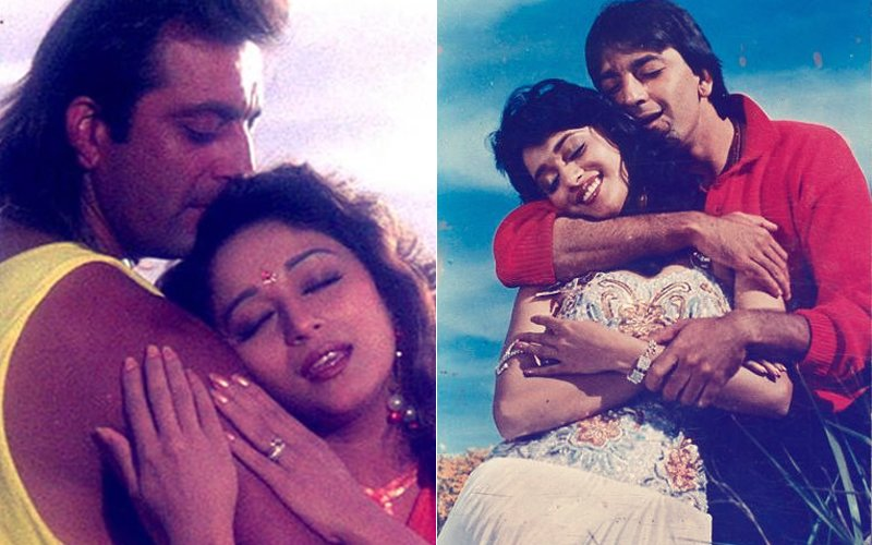 Will Ex-lovers Madhuri Dixit And Sanjay Dutt Kiss & Make-Up?