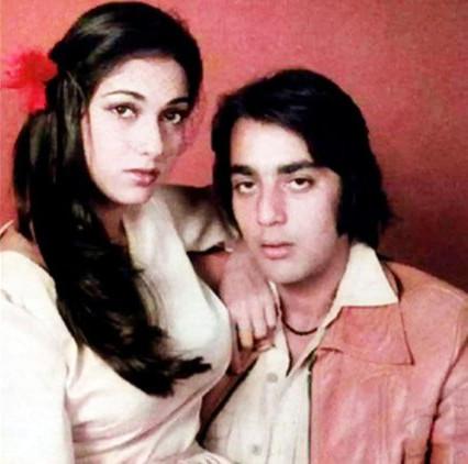 sanjay dutt with tina munim