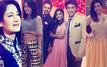 Aditi Rathore, Shivya Pathania, Kinshuk Vaidya, Vahbiz Dorabjee ATTEND Sanjay Gagnani-Poonam Preet's Engagement