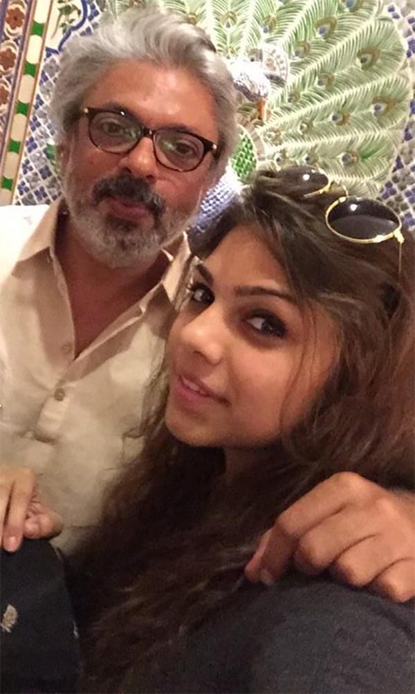 sanjay leela bhansali with niece sharmin sehgal