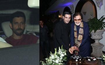 संजय खान ने मनाया अपना 78वां जन्मदिन, एक्स दामाद ऋतिक रोशन भी पहुंचे पार्टी में