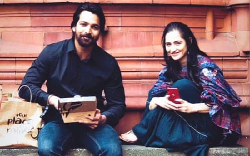 Amid Dating Rumours, Sanjeeda Shaikh And Harshvardhan Rane's Picture Enjoying Their Dabba Together On Sets Of Taish Surfaces