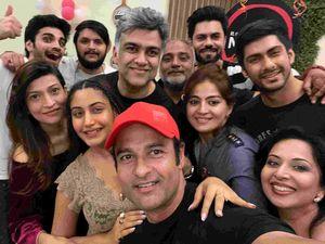 Sanjivani 2: It's A Wrap For Surbhi Chandna, Namit Khanna, Rohit Roy Starrer; Stars Party Hard To Celebrate Its Success - PICS