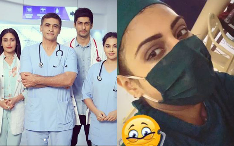 Surbhi Chandna Shares An On-Location Picture From Sanjivani 2 That Has Got Us Excited