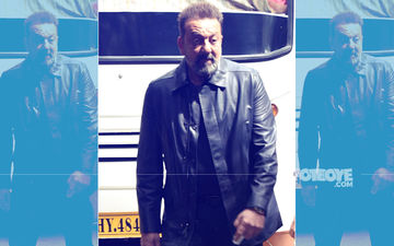 Sanjay Dutt Rocks An All-Black Look While Promoting Saheb Biwi Aur Gangster 3