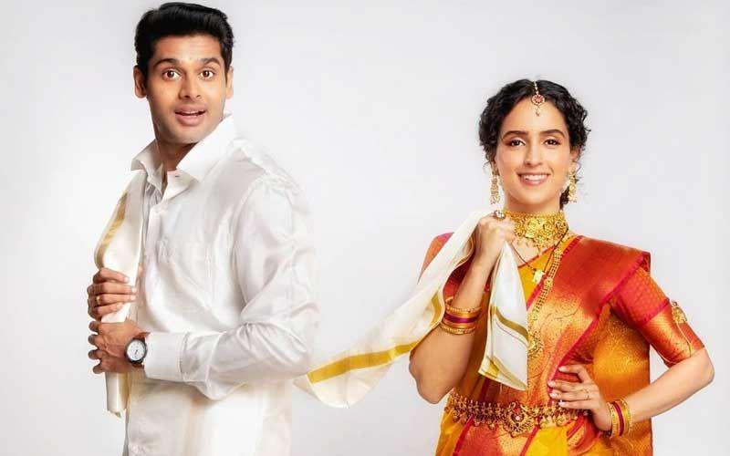 Meenakshi Sundareshwar First Look: Karan Johar Releases Glimpses Of Sanya Malhotra-Abhimanyu Dassani's Netflix Original