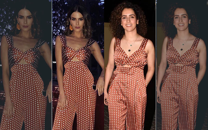 Sanya Malhotra's Polka Dot Jumpsuit Targeted By Diet Sabya's #GandiCopy